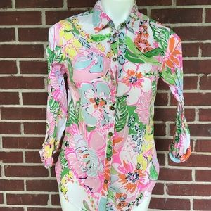 Lilly Pulitzer Button Down Size Small